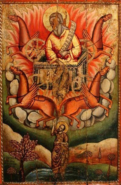 Възнесението на Св. Илия