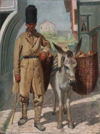 Продавач на хляб
