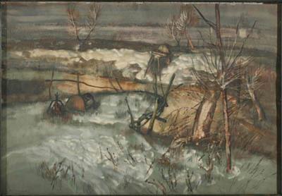 Зима край Подуене