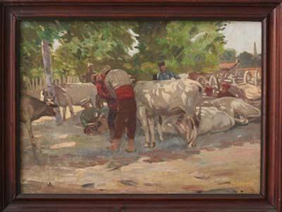 Пазар на добитък