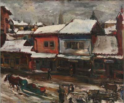 Зима в Казанлък