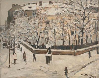 Зима в София