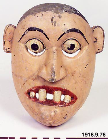 Dantoberre Kolan., mask, mask