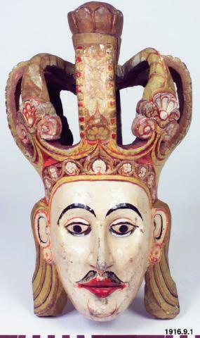 English Radscha, Engelsk herre, mask, mask