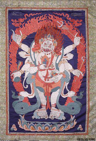 bonad, tempelbonad, embroidered hanging