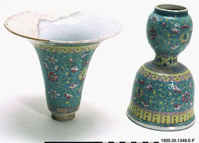 altaruppsats, kruka, ljusstake, rökelsekar, skål, kärl, offerskål, candlestick, bowl, vessel