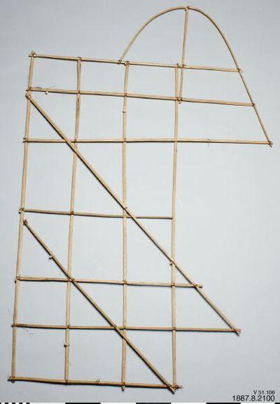 sjökort, diagram, stick chart, navigational chart, Genat