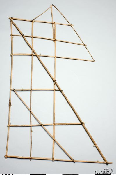 sjökort, diagram, navigational chart, stick chart, Genat