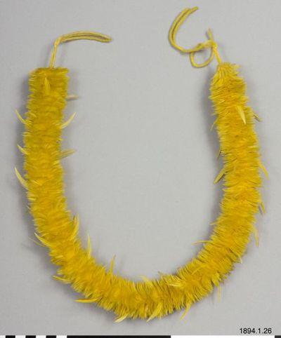 halsband, band, necklace, lei hulu, Lei hulu, necklace@eng