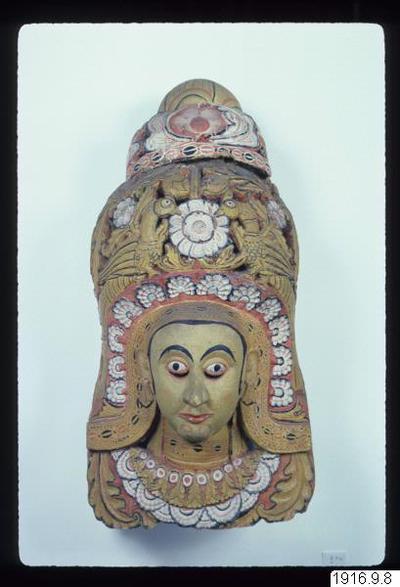 mask, Mahasamate Devi., mask