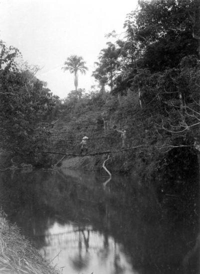 bro, flod, lianbro, fotografi, photograph@eng