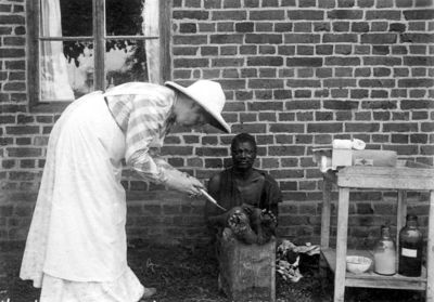 läkare, tropikhjälm, missionär, fotografi, photograph@eng