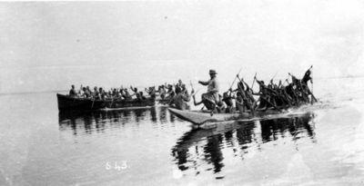 kanot, infödingskanoter, fotografi, photograph@eng