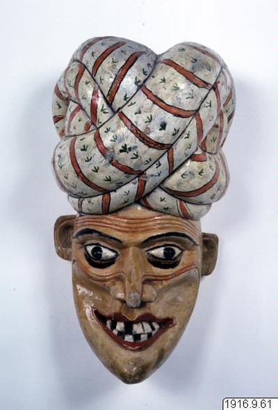 Sacre Kolan., mask, mask