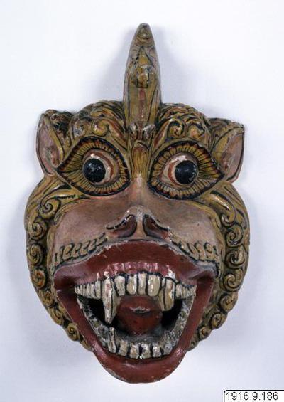 mask, SinRhya Kolan., mask