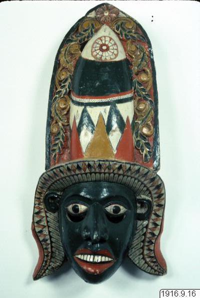 mask, Wadda Radja., mask