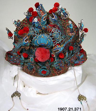 brudkrona, huvudbonad, bridal crown