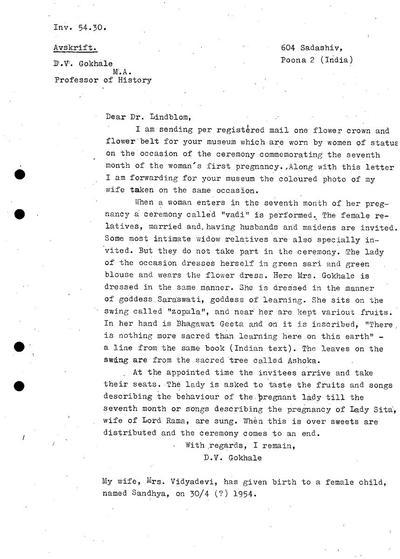 generalkatalog, brev