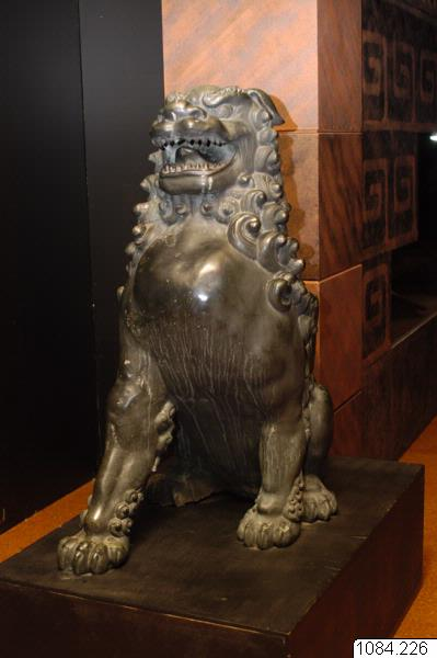 skulptur, väktarlejon, sculpture, korean dog, chinese lion, komainu@jpn