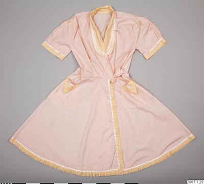 klänning, förkläde, arbetsrock, pinafore, dress
