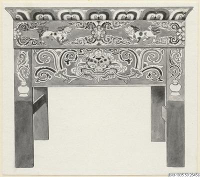 altare, bord, gudaskåp, altar, håft