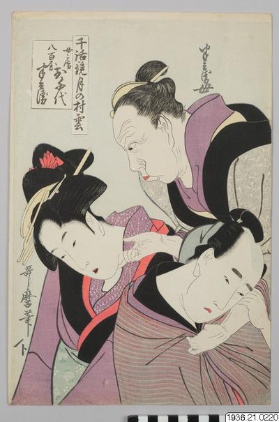 träsnitt,  浮世絵, ukiyo-e