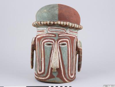 mask, kakapavaga, dansmask, dance mask, helmet mask