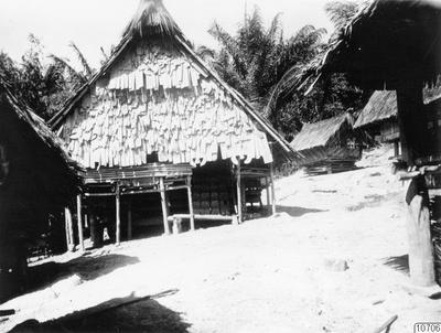 tempel, koelawi, man, byggnad, sulawesi, hydda, boladangko, bytempel, kulle, skog, landskap, fotografi, photograph@eng
