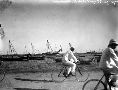 skepp, cyklist, strand, fotografi, photograph@eng