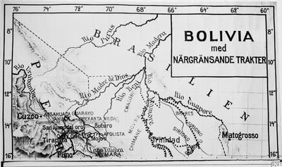 karta, gränstrakt, bolivia, grannstat, Karta, map@eng