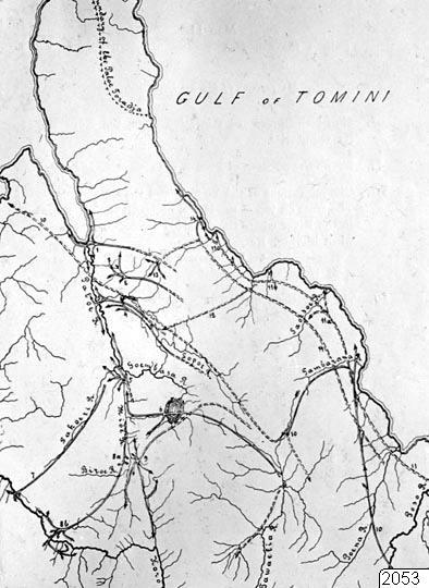 Karta, To tawaelias vandringar, Karta, map@eng