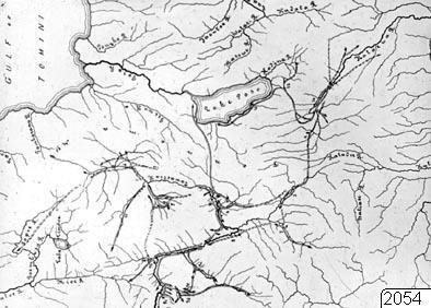 Karta, Koro toradjas vandringar, Karta, map@eng