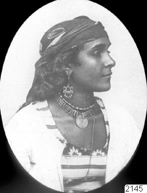 Nubisk kvinna, fotografi, photograph@eng