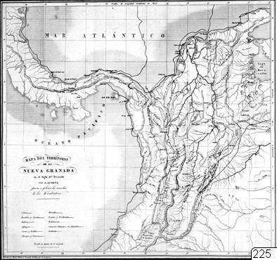 karta, Nya Granada, Karta, map@eng