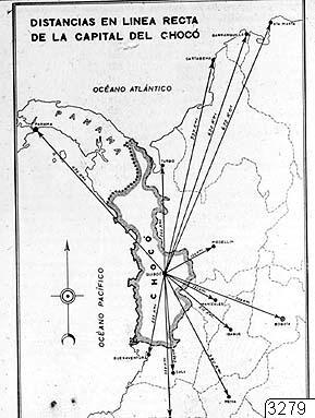 Karta Chocó, Karta, map@eng
