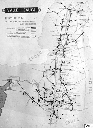 Karta, Valle Cauca, Karta, map@eng