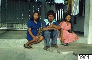Akawaio-indianen Edward King m.fl, fotografi, photograph@eng