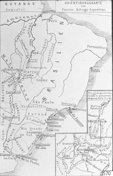 Karta, Xingú-expedition, Karta, map@eng