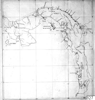Karta, Panamanäset, Karta, map@eng