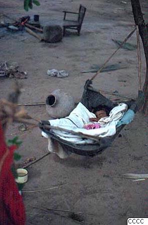 Barn, hängmatta, fotografi, photograph@eng