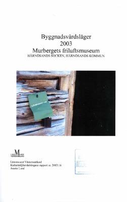Byggnadsvårdläger 2003