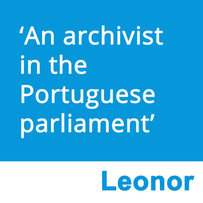 An archivist in the Portuguese parliament