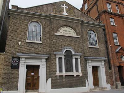 St George's German Lutheran Church, London