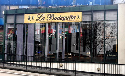 South American business in Elephant & Castle