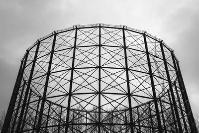 East Greenwich No.1 gas holder – a lost industrial landmark