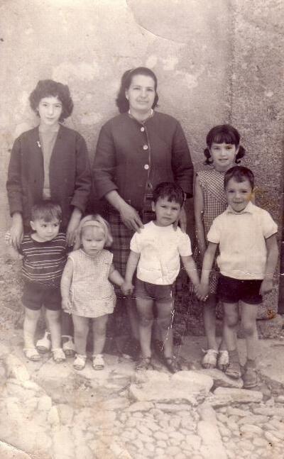 Familiefoto voor mijn vader in Nederland