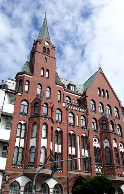Gustav Adolf Kirche, Swedish church, Hamburg