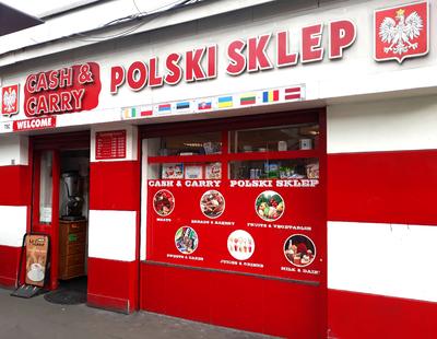 Polski sklep, Dublin