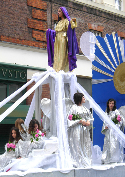 Procession in honour of Our Lady of Mount Carmel