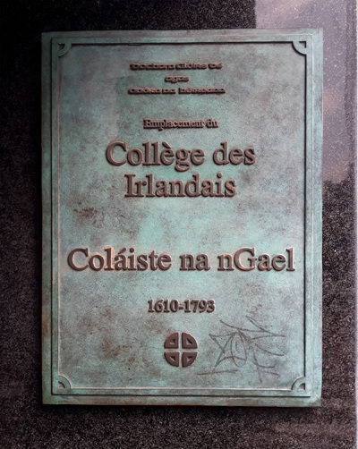 Irish College, Coláiste na nGael, Lille